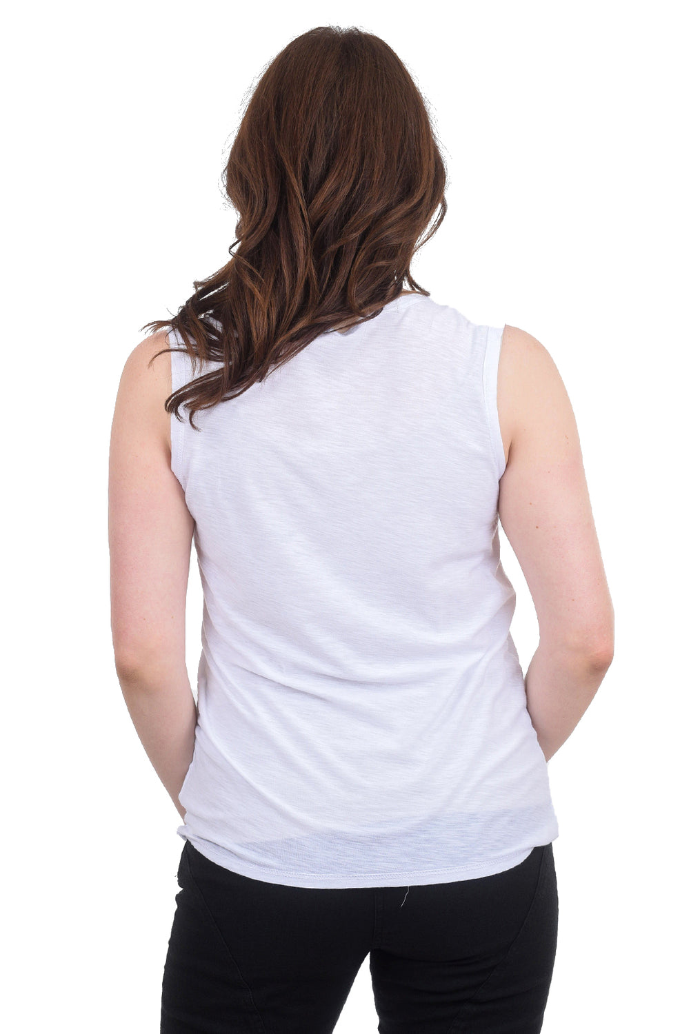Commune Core Muscle Tank, White