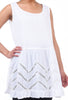 Tulip Moana Drop-Waist Tunic, White