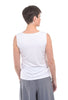 Comfy USA Basic Wide Strap Tank, White