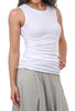 Planet Luxury Tank Top, White