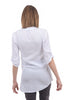 XCVI Arden Double-Gauze Tunic, White