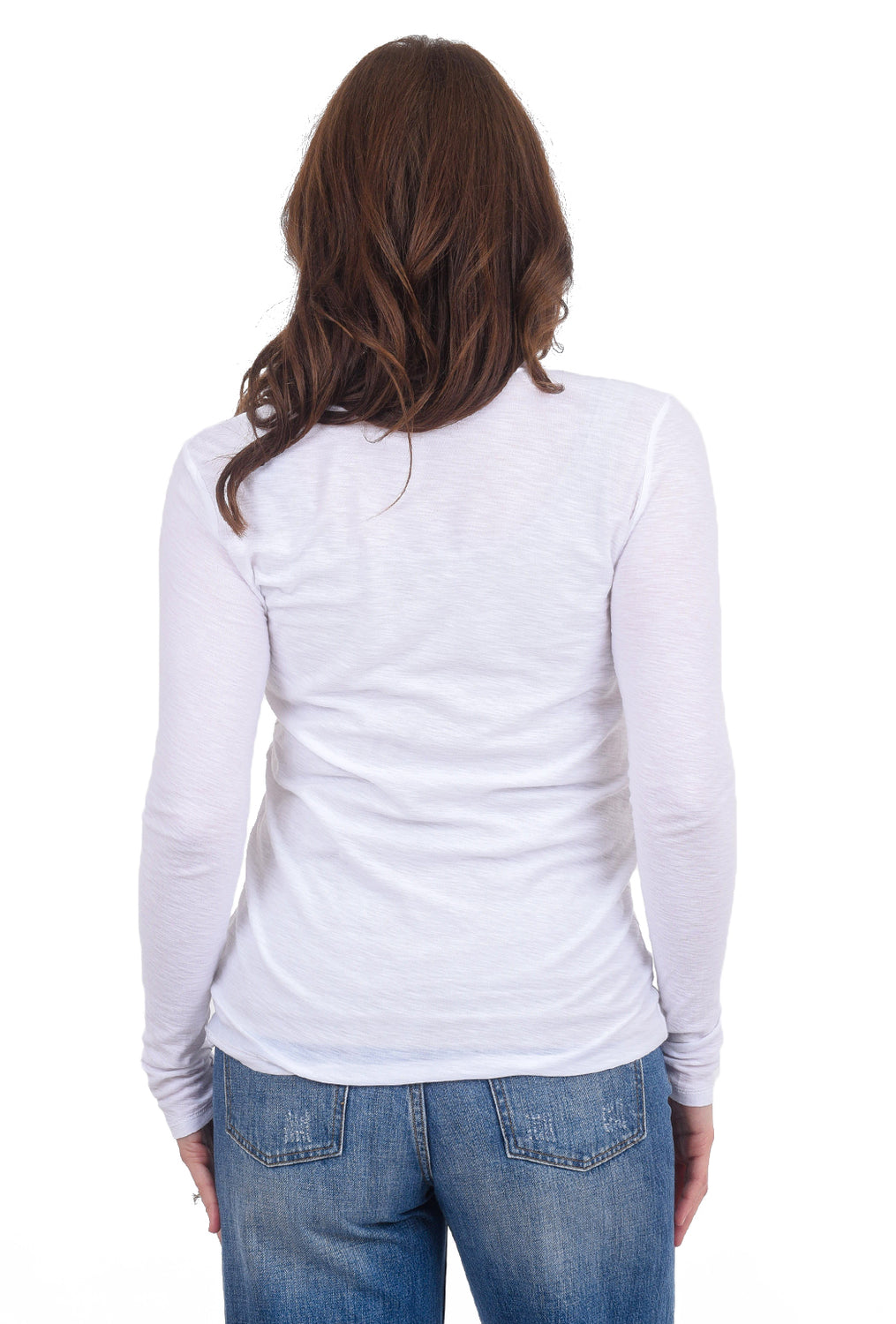 Commune Malibu Crewneck Tee, White