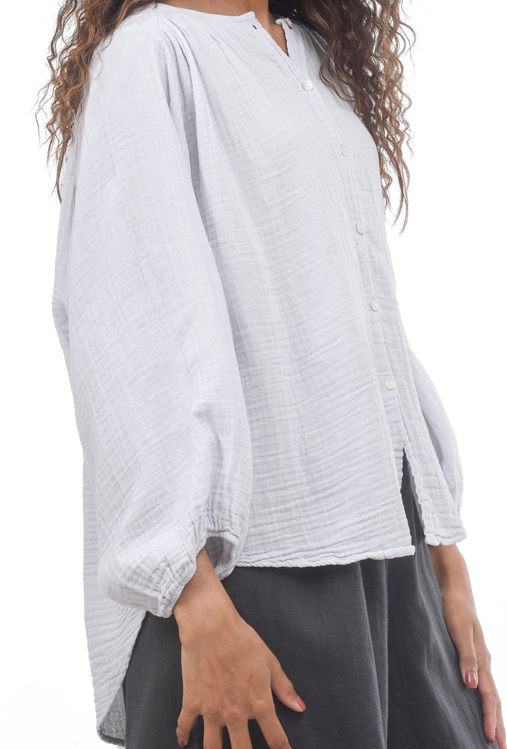 Filosofia Shirley Blouse, Hazy Gray