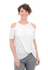 COA Sundowner Knotted Top, Off-White