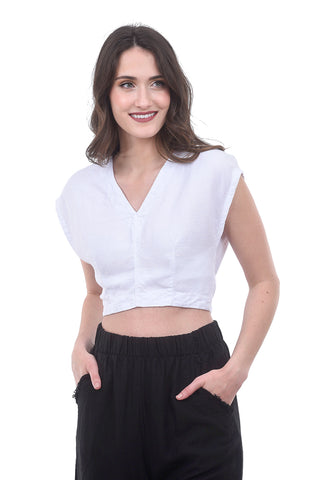 Prairie Underground Affect Wrap Top, Optic White