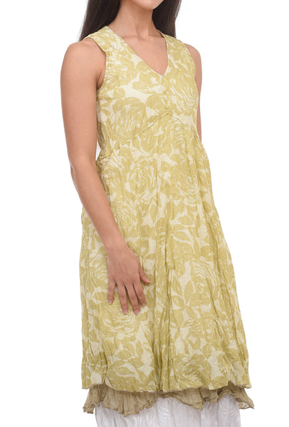 Amadi Lena Tiered Dress, Cream