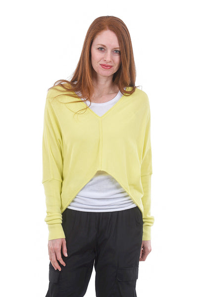 Planet Mini Double V Layer Sweater, Citron One Size Citron