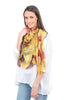 Blue Pacific Love Scarf, Tan