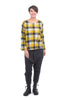 Two Danes Emeline Flannel Top, Curry/Rain