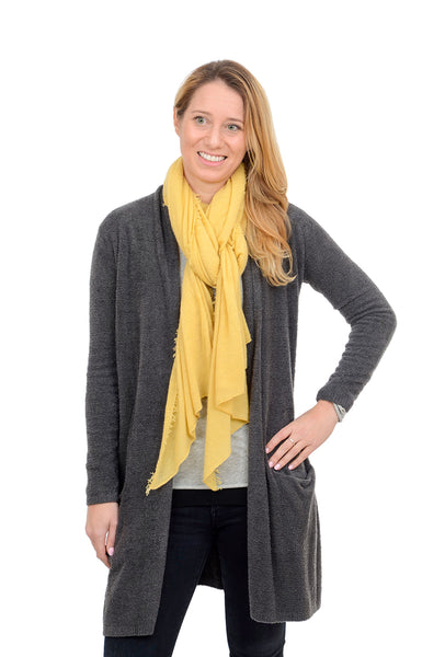 Grisal Cashmere 'Love' Scarf, Honey Wheat One Size