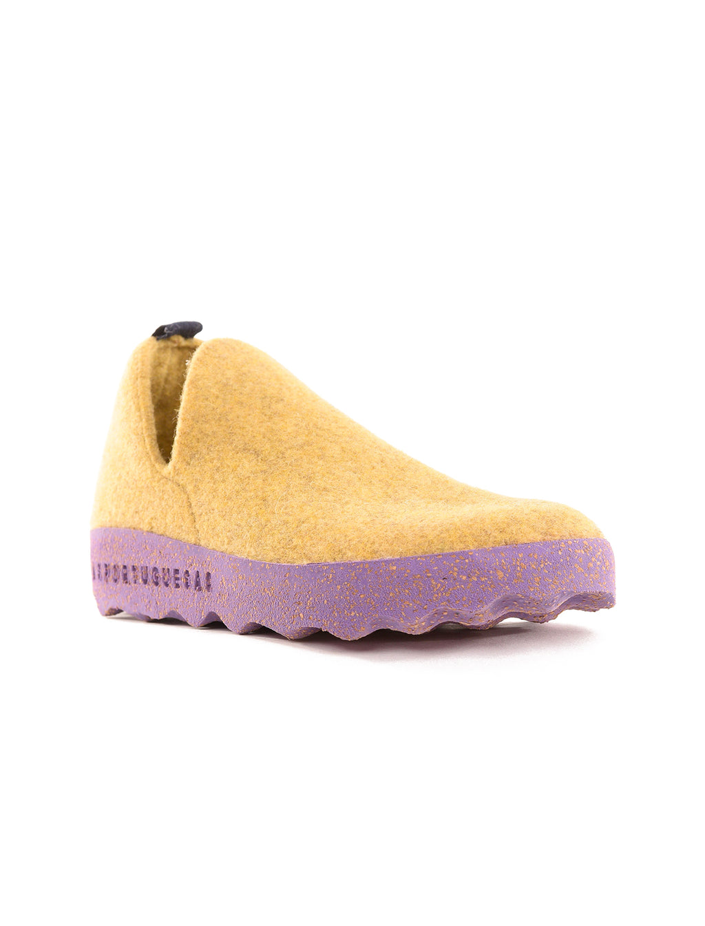 Asportuguesas City Wool Sneakers, Yellow