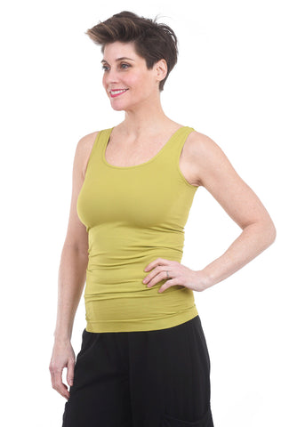 Tees by Tina TbT Smooth Tank, Chartreuse One Size Chartreuse