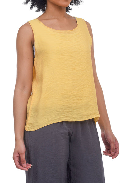Cut Loose Longer Jersey Tank, Caramel
