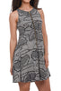 Bel Kazan Nouvelle Dress, Black Shibori