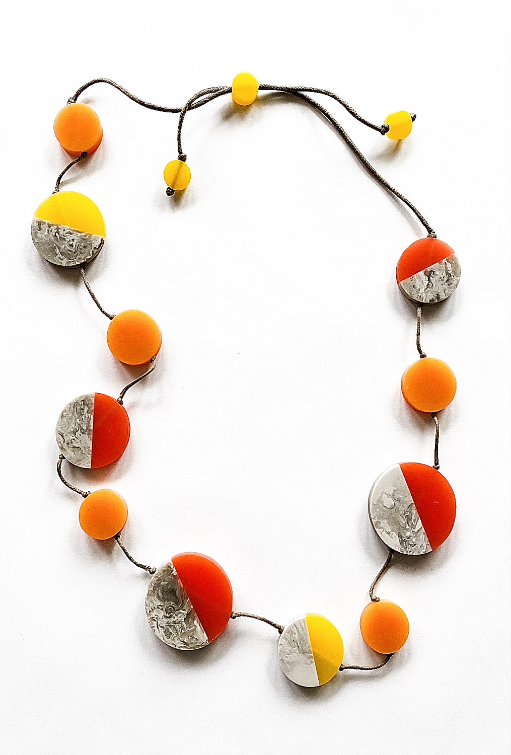 Sylca Designs Athena Necklace, Fire