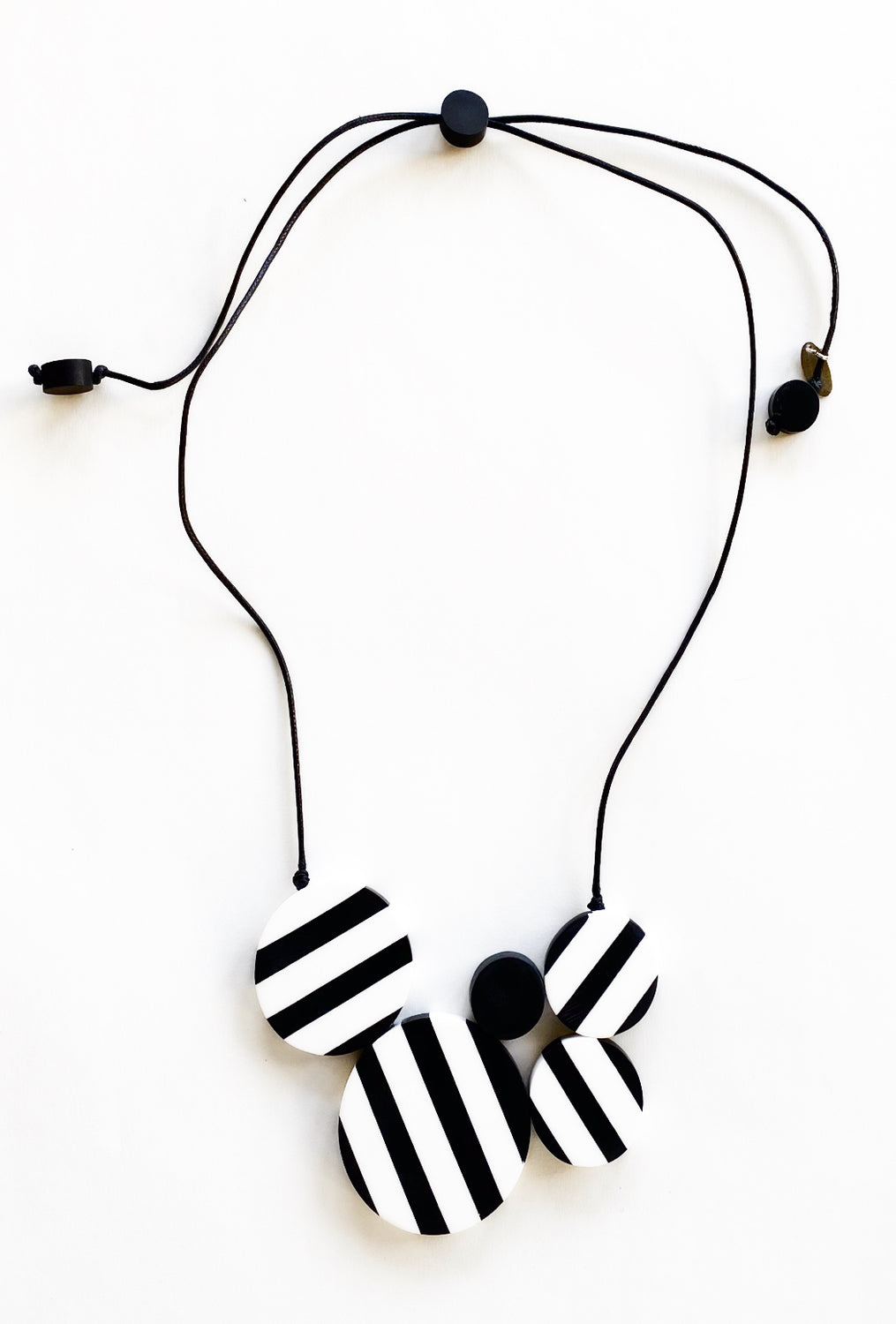 Sylca Designs Clara Necklace, Black