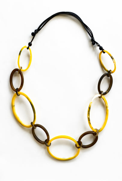 Sylca Designs Davia Necklace, Yellow