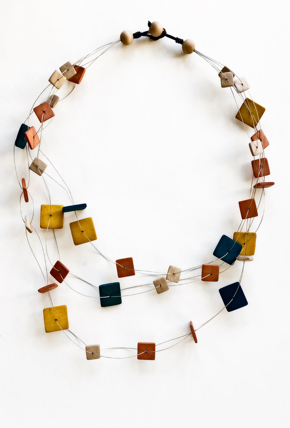 Sylca Designs Elisa Necklace, Mustard