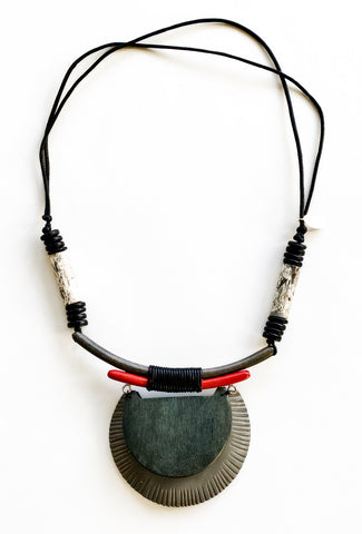 Sylca Designs Jesse Necklace, Gray