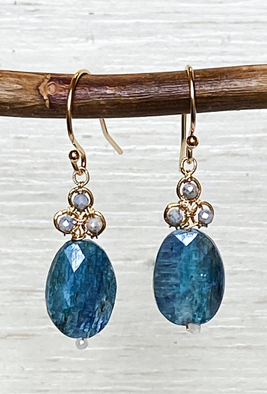 Michelle Pressler Silverlight/Blue Kyanite Ear