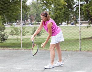 Headband that fits like sunglasses, give it a try on the tennis court! | Zazzy Bandz