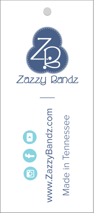 Zazzy Bandz Hang Tags