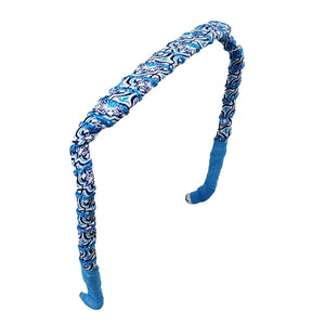 Blue Cathedral Headband - Zazzy Bandz