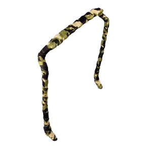 Camouflage Headband - Zazzy Bandz - hair accessory - curly hair