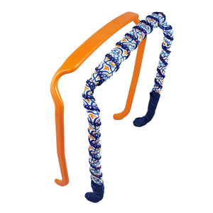 Orange + Blue Cathedral 🍊  Two-Pack - Zazzy Bandz