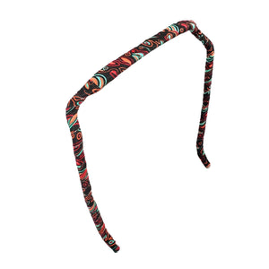 Paisley Headband - Zazzy Bandz - hair accessory - curly hair