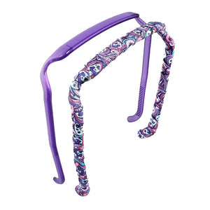 Purple Frost Two-Pack - Zazzy Bandz - hair accessory - curly hair