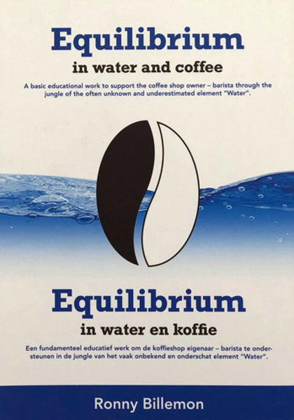 "Boek ""Equilibrium in water and coffee"" door Ronny Billemon"