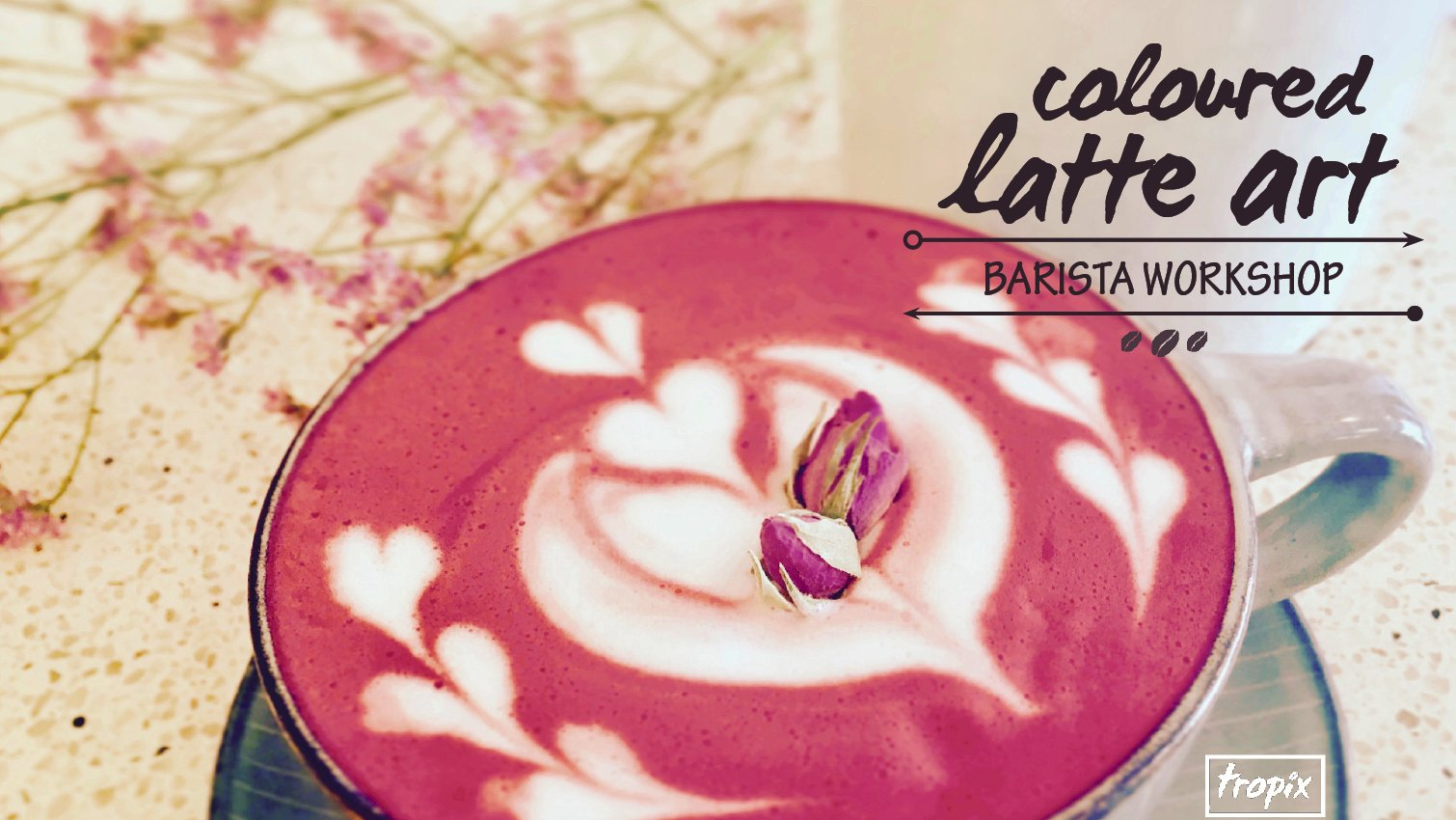 Coloured Latte Art Workshop