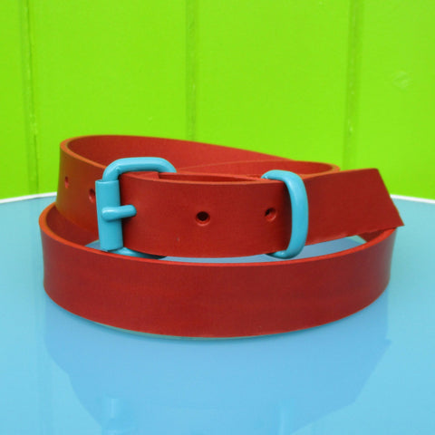 Suit belt Red