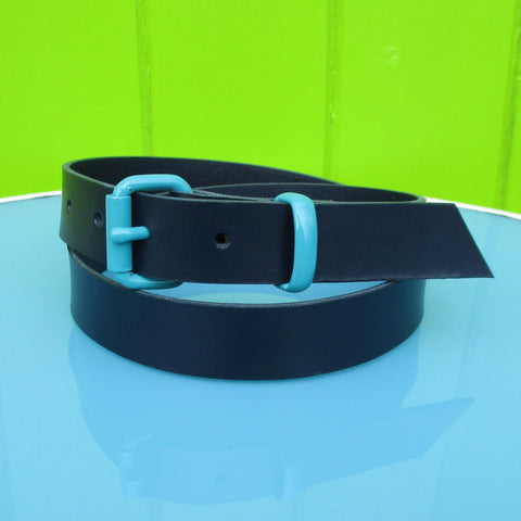 Suit belt Navy