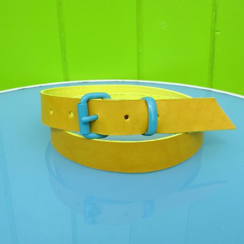 Suit belt Yellow