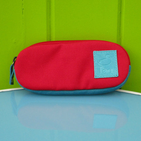 Canvas Glasses Case