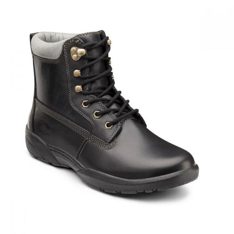 Dr. Comfort Men's Boots - Boss - Black