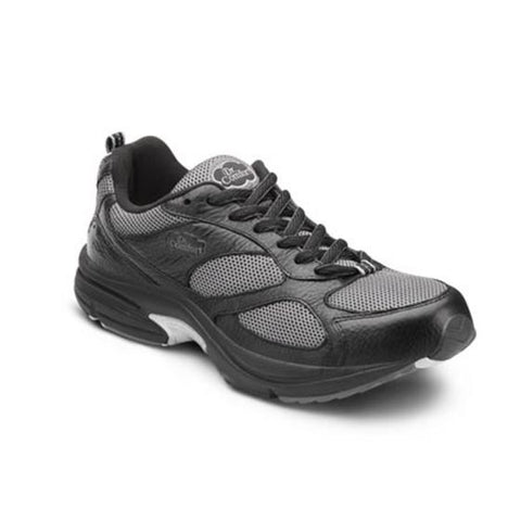 Dr. Comfort Men's Athletic Diabetic Shoes - Endurance Plus - Black