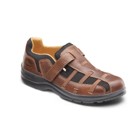 Dr. Comfort Women's Diabetic Casual Shoe - Betty- Chestnut