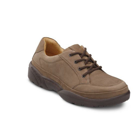 Dr. Comfort Men's Casual Shoe - Justin - Chestnut