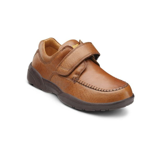 Dr. Comfort Men's Casual Shoe - Scott - Chestnut