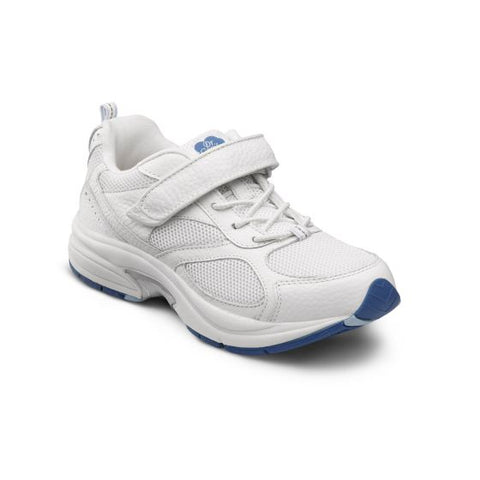 Dr. Comfort Women's Athletic Diabetic Shoe - Victory - White