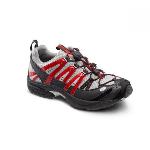 Dr. Comfort Men's Athletic Diabetic Shoe - Performance - Red