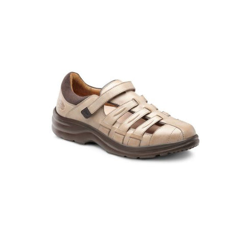 Dr. Comfort Women's Diabetic Casual Shoe - Breeze - Light Gold
