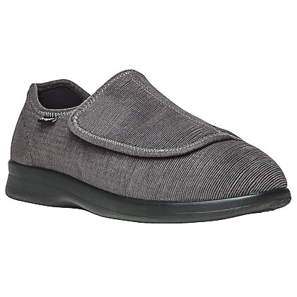 Propet's Men Diabetic Wellness Shoes - Cush 'N Foot M0202- Slate Corduroy
