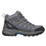 Propet's Men Diabetic Work Boots- M3599 - Grey/ Blue