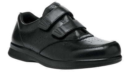 Propet's Men Diabetic Casual Shoes - Vista Strap M3915- Black