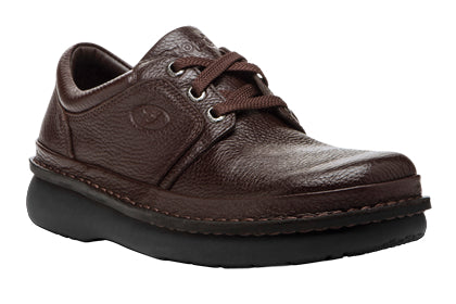 Propet's Men Diabetic Casual Shoes - Villager M4070 - Brown Grain