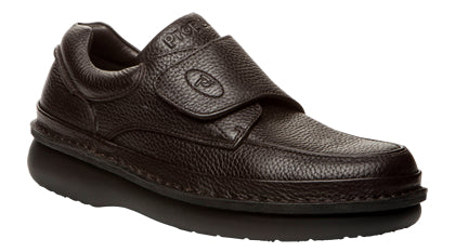 Propet's Men Diabetic Casual Shoes - Scandia Strap M5015 - Brown